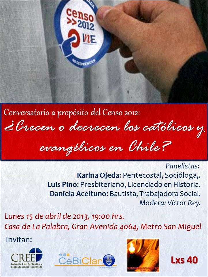 Afiche Conversatorio Censo