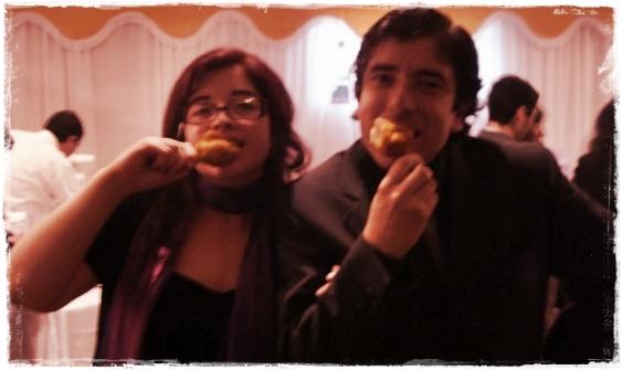 Luis y Mónica.
