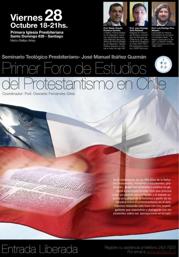 Foro Historia del Protestantismo.