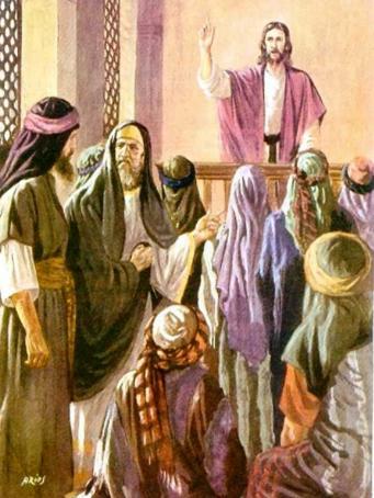 Jesús en Nazaret.
