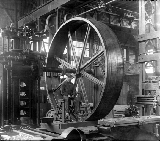 Ouvrier-Hydraulic-Machinery-1900_Fonds-Hydraulic-Machinery-Écomusée-du-fier-monde