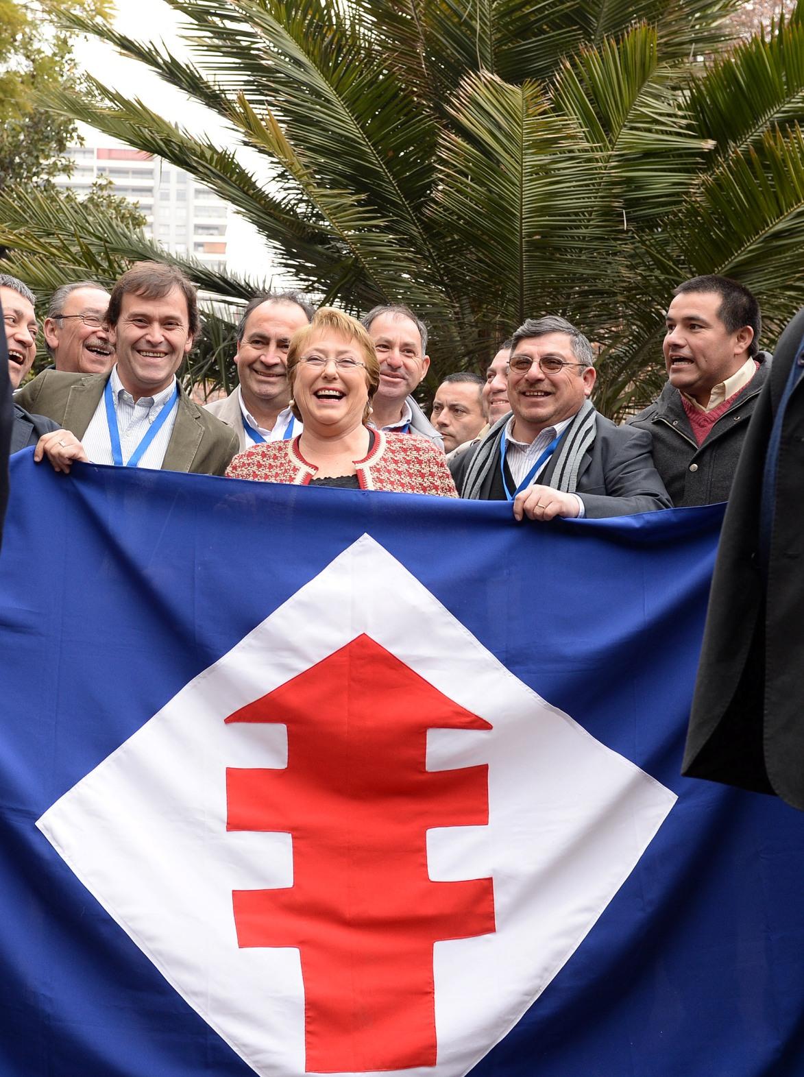 Presidenta-de-la-República-Michelle-Bachelet-asiste-a-Junta-Nacional-de-la-Democracia-Cristiana